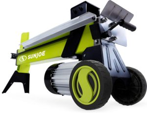 Sun Joe LJ602E 5-Ton 15-Amp Electric Log Splitter w/Hydraulic Ram, Green
