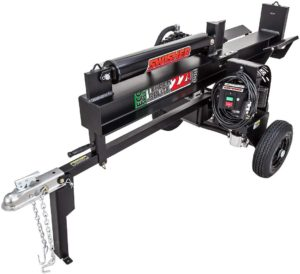 Swisher LS22E 120V Timber Brute Eco Split Electric Log Splitter, 22 Ton, Black